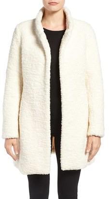 Ivanka Trump Textured Faux Fur Coat $228 thestylecure.com