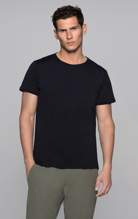Theory Stopt Tee in Cycling Nylon Blend