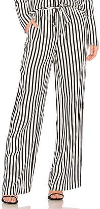 Frame Stripe Easy Pant