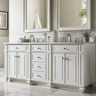 "James Martin Furniture Bristol 72"" Double Bathroom Vanity Base Only"