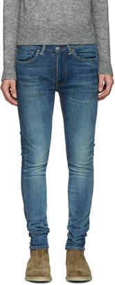 Levi's Blue 519 Jeans $100 thestylecure.com