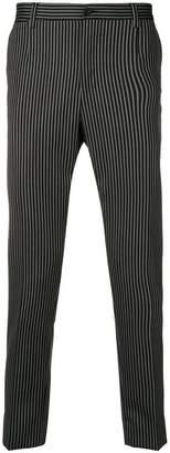 Dolce & Gabbana striped chinos