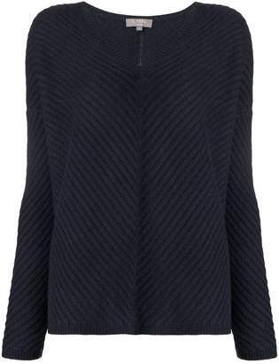 N.Peal basketweave sweater