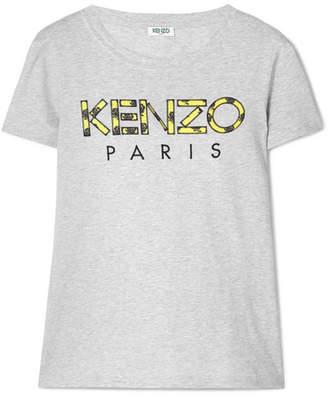 Kenzo Appliqued Cotton T-shirt