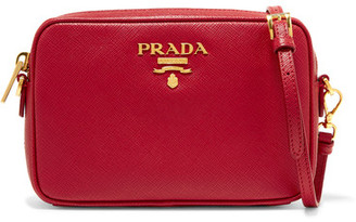 Prada - Textured-leather Camera Bag $850 thestylecure.com