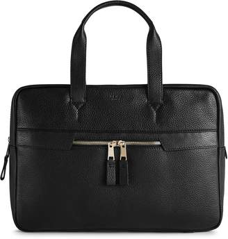 Reiss Lindberg Pebbled Leather Briefcase