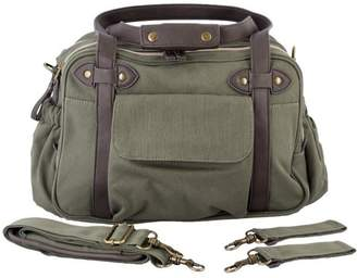 Baby Essentials Soyoung SoYoung Charlie Diaper Bag - Khaki with Brown Handles
