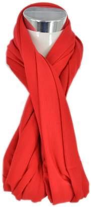HERRICO Solid Color Scarves Ladies Circle Neck Warmer Wraps Loop Scarf Snood
