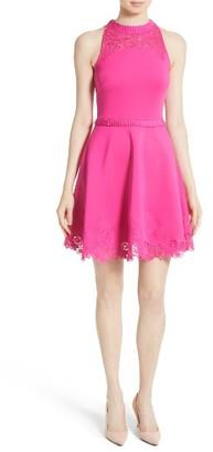 Women's Ted Baker London Zaffron Fit & Flare Dress $295 thestylecure.com
