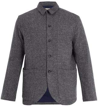 The Lost Explorer - Patch Pocket Chambray Blazer - Mens - Blue