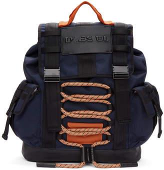 Diesel Blue M-Cage Backpack
