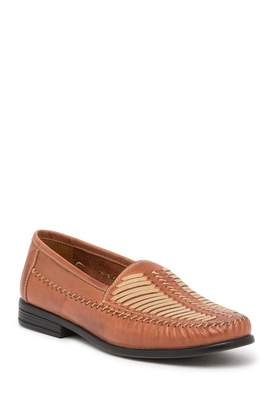 Giorgio Brutini Metro Woven Leather Moccasin Loafer