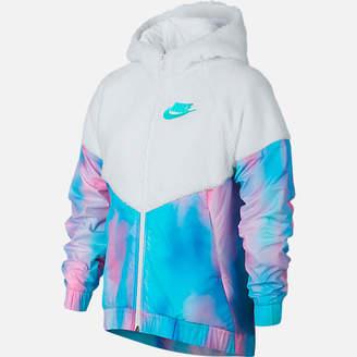 Nike Girls' Windrunner Sherpa Full-Zip Jacket