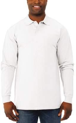 Polo Ralph Lauren JERZEES Big Men's SpotShield Long Sleeve Shirt