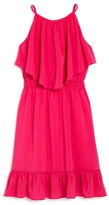 Laundry by Shelli Segal Girls' Ruffled Modified-Halter Dress - Big Kid