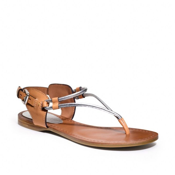 Coach Coco Flat Sandal