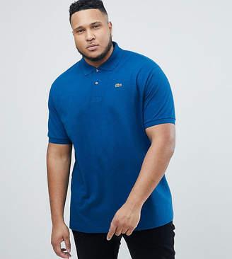 Lacoste Big logo polo shirt in blue