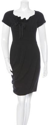 Vera Wang Short Sleeve Sheath dress $75 thestylecure.com