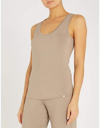 Hanro Yoga stretch-jersey sleeveless tank top
