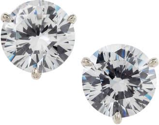 FANTASIA Martini-Cut Rhinestone Stud Earrings