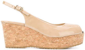 Jimmy Choo Praise wedge sandals