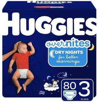 Huggies Overnites Diapers Super Pack (Select Size)