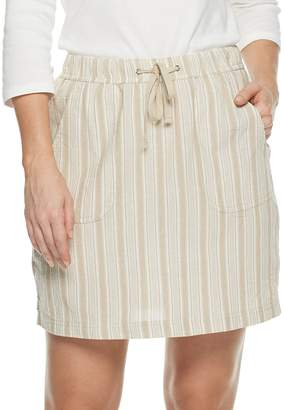 Croft & Barrow Women's Sheeting Skort