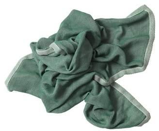 Muuto Green Ripple Throw