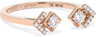 Toi et Moi Messika - My Soul 18-karat Rose Gold Diamond Ring