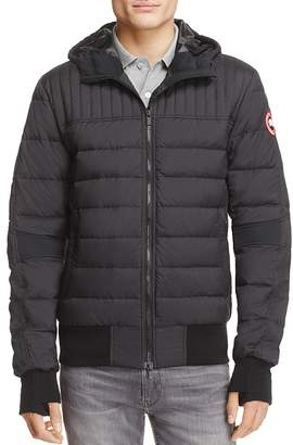 Canada Goose Cabri Hooded Down Jacket $550 thestylecure.com