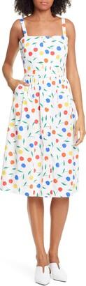 HVN Laura Fruit Print Dress