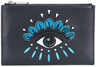 Kenzo eye-motif clutch