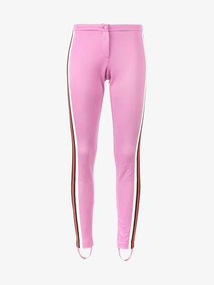 Gucci Jersey stirrup leggings with Web