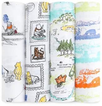 Aden Anais Aden & Anais Winnie The Pooh Swaddle Set