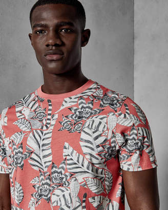 Ted Baker BULSEYE Floral cotton T-shirt