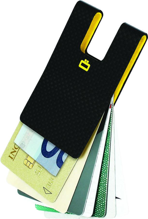 Lightweight Carbon Fiber RFID Card Clip
