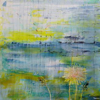 Parvez Taj Water Blooms Canvas Wall Art