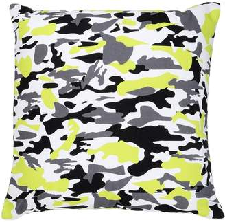 Camouflage Printed Cotton Canvas Pillow