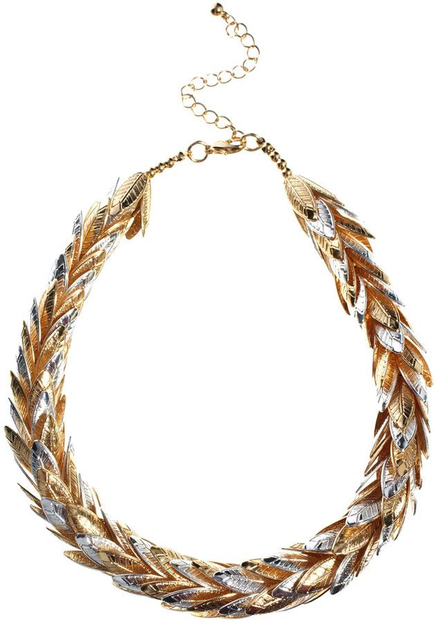 Asos Leaf Collar Necklace