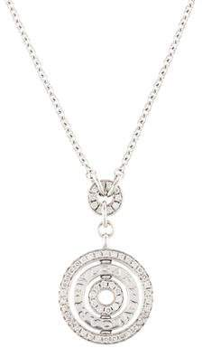 Bvlgari Astrale 18K Diamond Cerchi Pendant Necklace