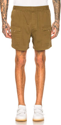 Acne Studios Rosso Shorts in Olive Green   FWRD