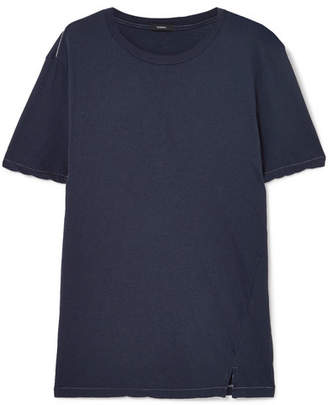 Bassike Organic Cotton-jersey T-shirt - Navy