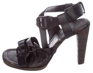 3.1 Phillip Lim Leather Multistrap Sandals