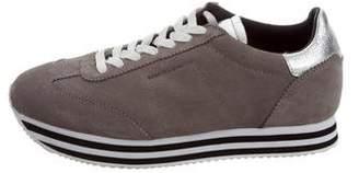 Rebecca Minkoff Suede Flatform Sneakers