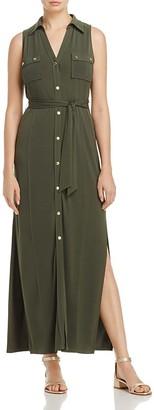 MICHAEL Michael Kors Maxi Shirt Dress $140 thestylecure.com