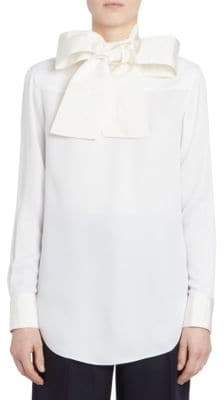 Thom Browne Backwards Necktie Blouse