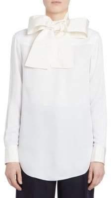 Thom Browne Backwards Necktie Blouse