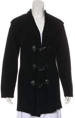 Ralph Lauren Black Label Wool Hooded Cardigan