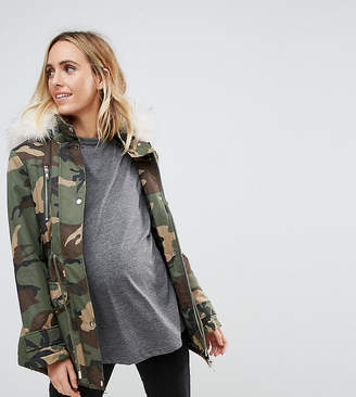 Asos Ultimate Camo Parka