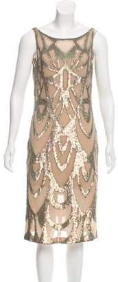 Needle & Thread Sleeveless Sequin Dress